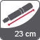 Vihmavarju pikkus suletuna 23 cm