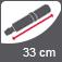 Vihmavarju pikkus suletuna 33 cm