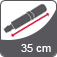 Vihmavarju pikkus suletuna 35 cm
