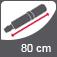 Vihmavarju pikkus suletuna 80 cm