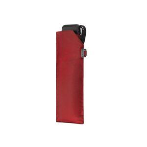 Vihmavari Doppler Carbonsteel Mini Slim Punane