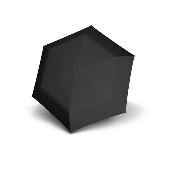 Vihmavari Doppler Carbonsteel Mini Slim Must